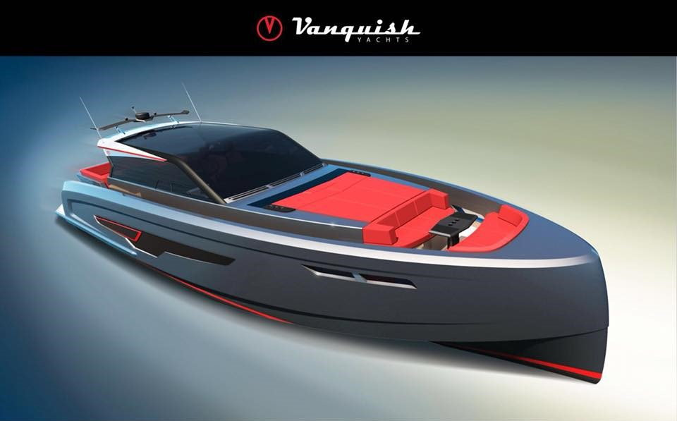 Vanquish VQ65 Veloce:  the fastest 65ft ever
