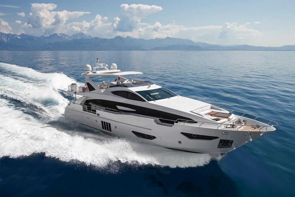New-build Azimut Grande 30 Metri motor yacht sold