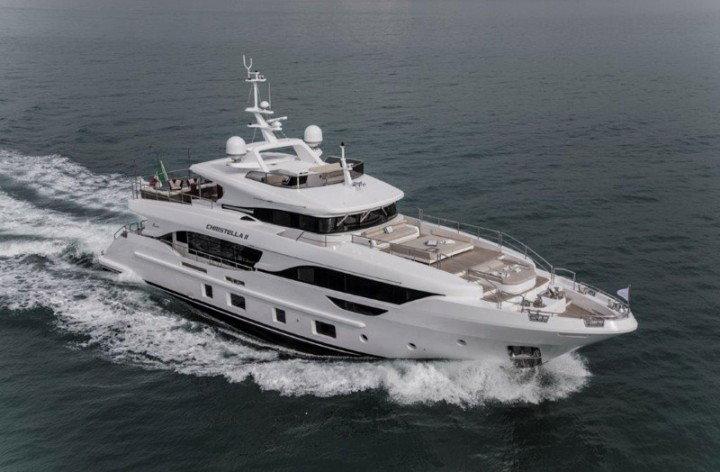 Benetti delivers first Delfino 95′ MY Christella II