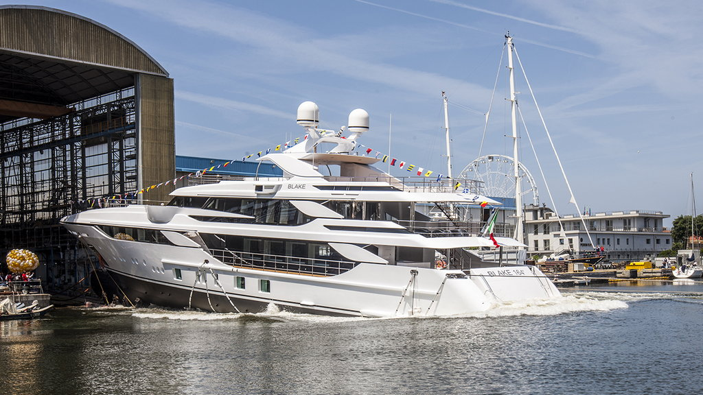 "NEW LAUNCH FOR BENETTI: M/Y ""BLAKE"""